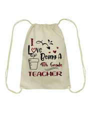4TH GRADE TEACHER Drawstring Bag thumbnail