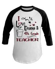 4TH GRADE TEACHER Baseball Tee thumbnail