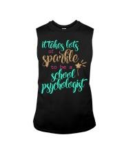 SCHOOL PSYCHOLOGIST SPARKLE Sleeveless Tee thumbnail