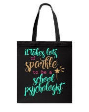 SCHOOL PSYCHOLOGIST SPARKLE Tote Bag thumbnail