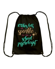 SCHOOL PSYCHOLOGIST SPARKLE Drawstring Bag thumbnail
