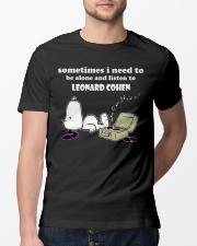 Leonard Cohen T-Shirt - NEW  Classic T-Shirt lifestyle-mens-crewneck-front-13