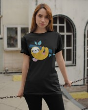 Sloth Mother Classic T-Shirt apparel-classic-tshirt-lifestyle-19