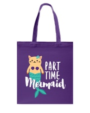 Part-Time Mermaid Tote Bag thumbnail