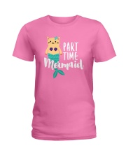 Part-Time Mermaid Ladies T-Shirt thumbnail