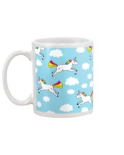 Unicorns and Clouds Mug back