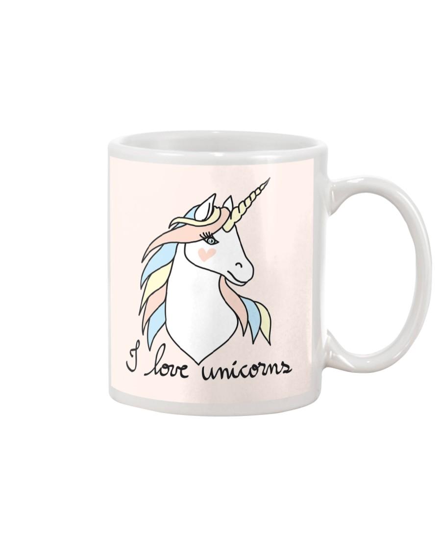I Love Unicorns Mug