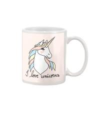 I Love Unicorns Mug front