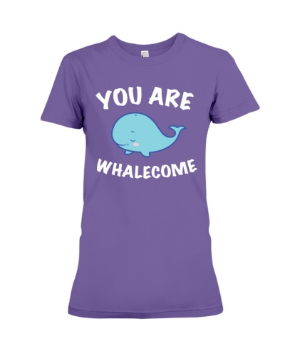 You Are Whalecome