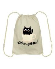 Feline Good Drawstring Bag thumbnail