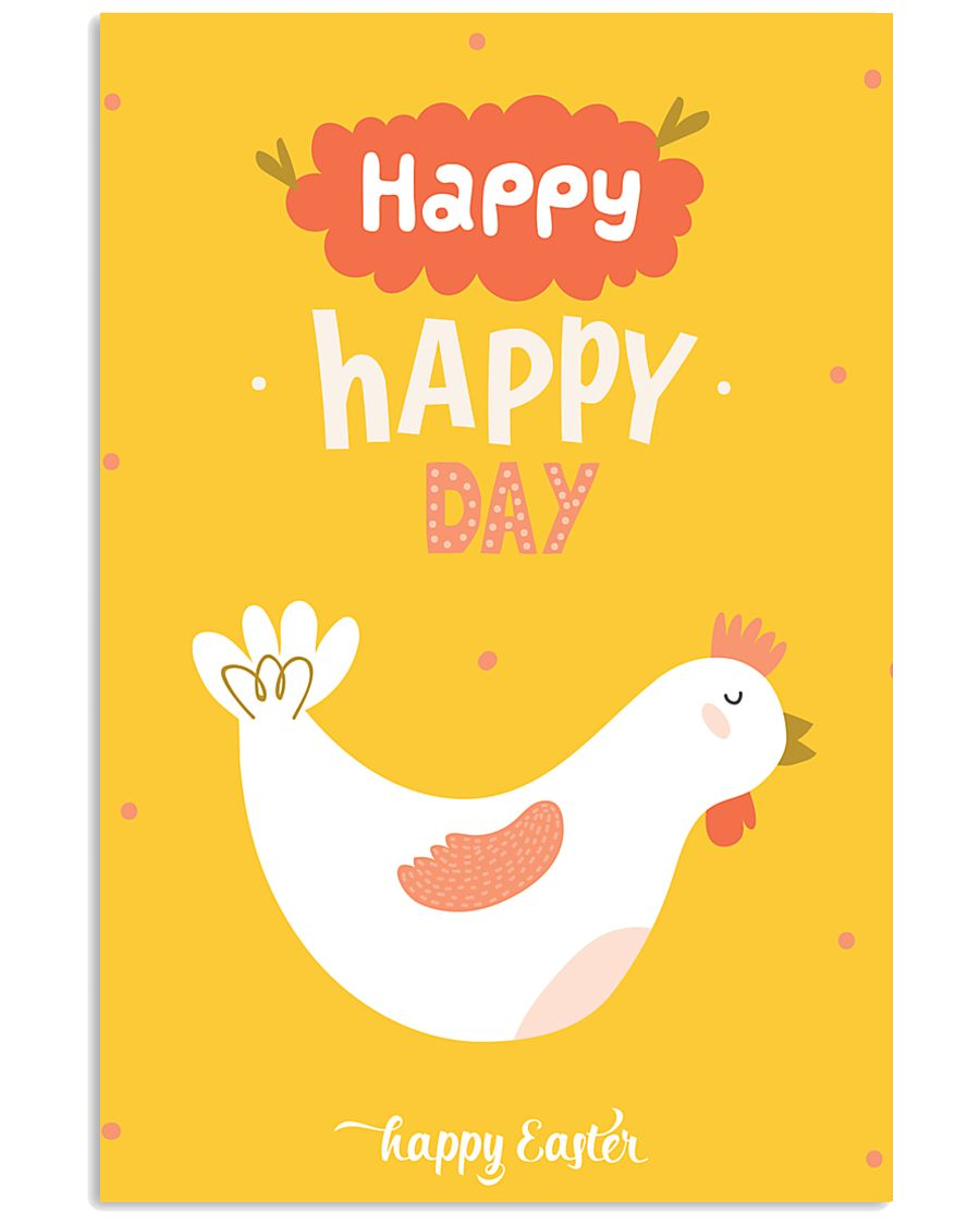 Happy Easter 11x17 Poster