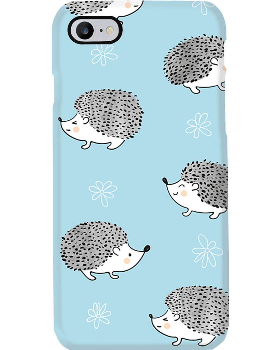 Hedgehog Parade Phone Case