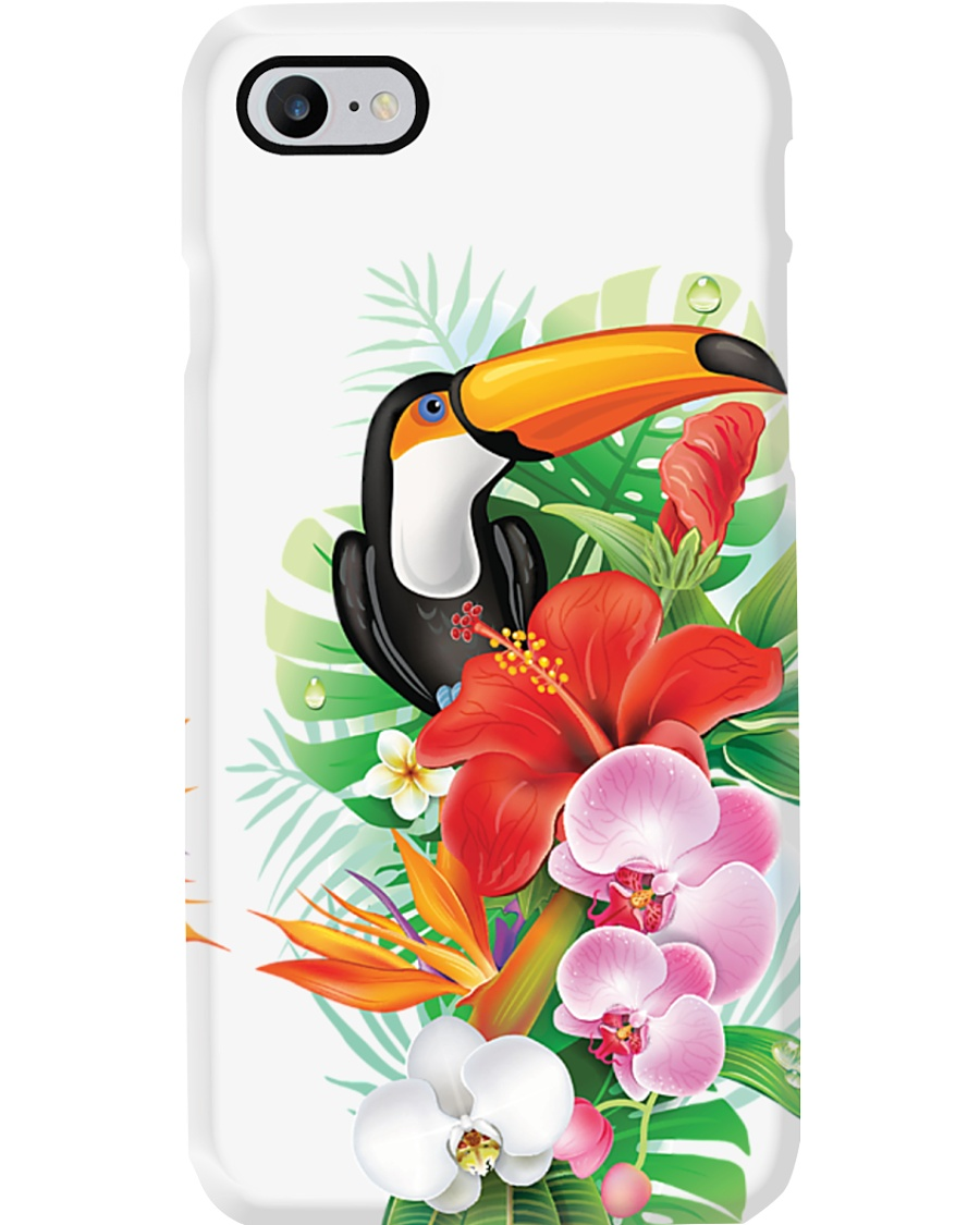 Toucan Flowers Phone Case