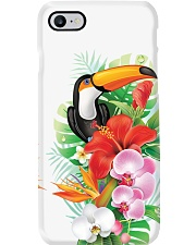 Toucan Flowers Phone Case i-phone-7-case