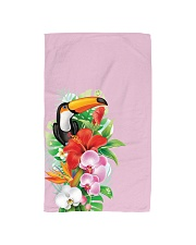 Toucan Flowers Hand Towel thumbnail