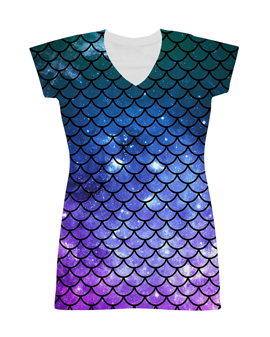 Mermaid Scales All-over Dress