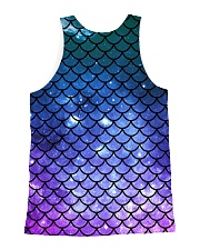 Mermaid Scales All-over Unisex Tank back