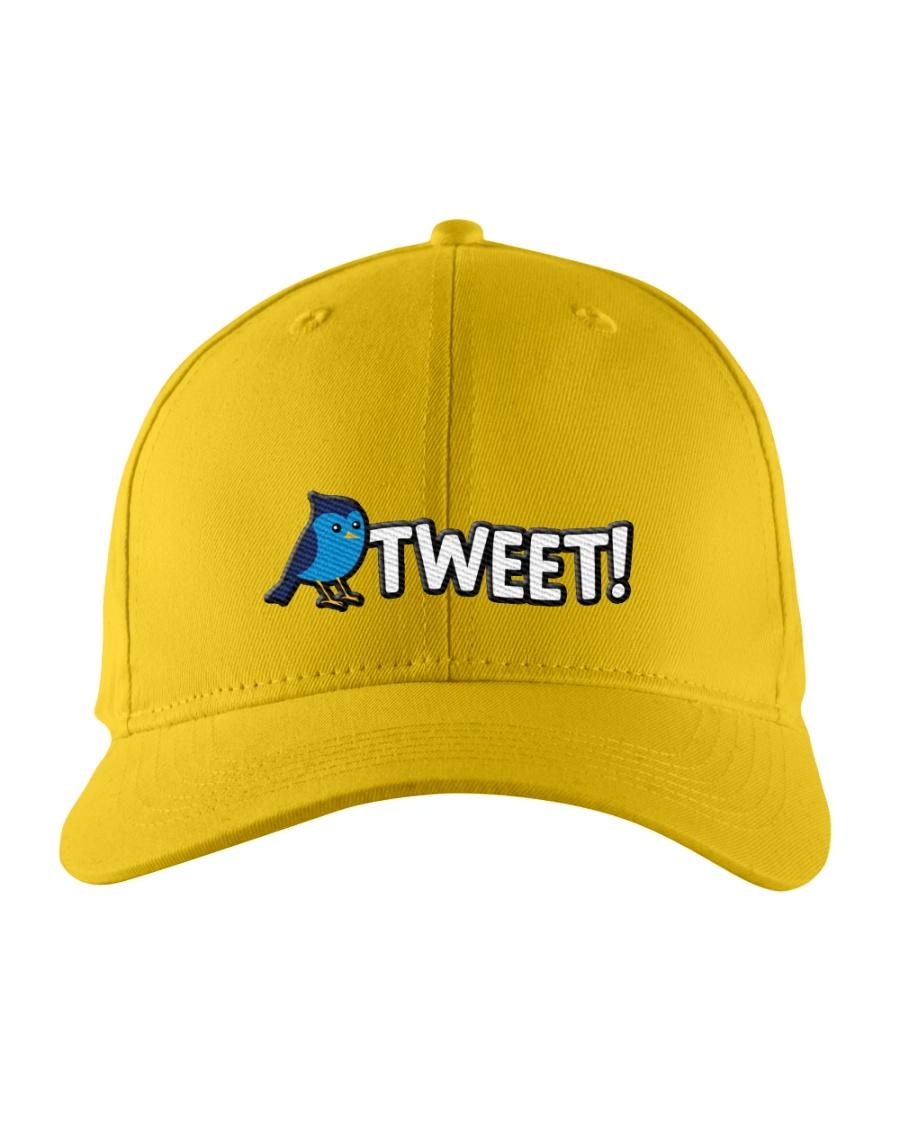 Tweet Embroidered Hat
