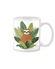 Sloth in Ferns Mug front