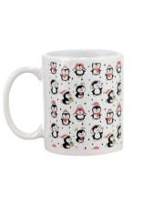 Cute Christmas Penguins Mug back