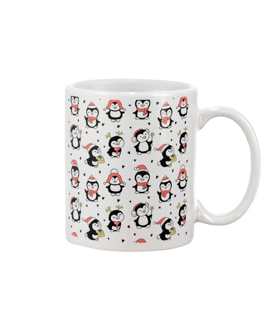 Cute Christmas Penguins Mug