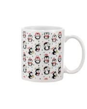 Cute Christmas Penguins Mug front
