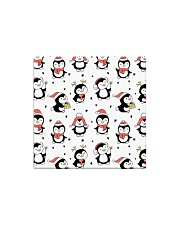 Cute Christmas Penguins Square Magnet tile