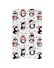Cute Christmas Penguins Hand Towel thumbnail