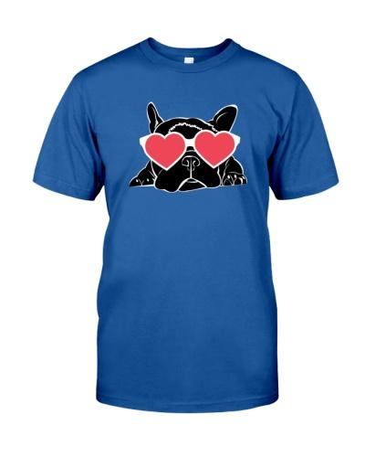 Boston Terrier Heart Eyes