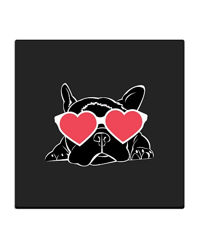 Boston Terrier Heart Eyes