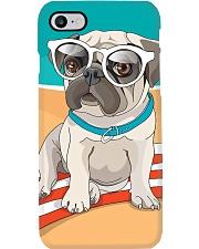 Pug at Beach Phone Case i-phone-7-case