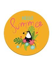 Hello Summer Toucan Circle Coaster thumbnail