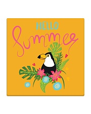 Hello Summer Toucan Square Coaster thumbnail