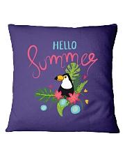 Hello Summer Toucan Square Pillowcase thumbnail
