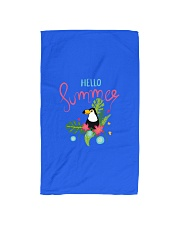 Hello Summer Toucan Hand Towel thumbnail