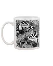 Black and White Toucans Mug back