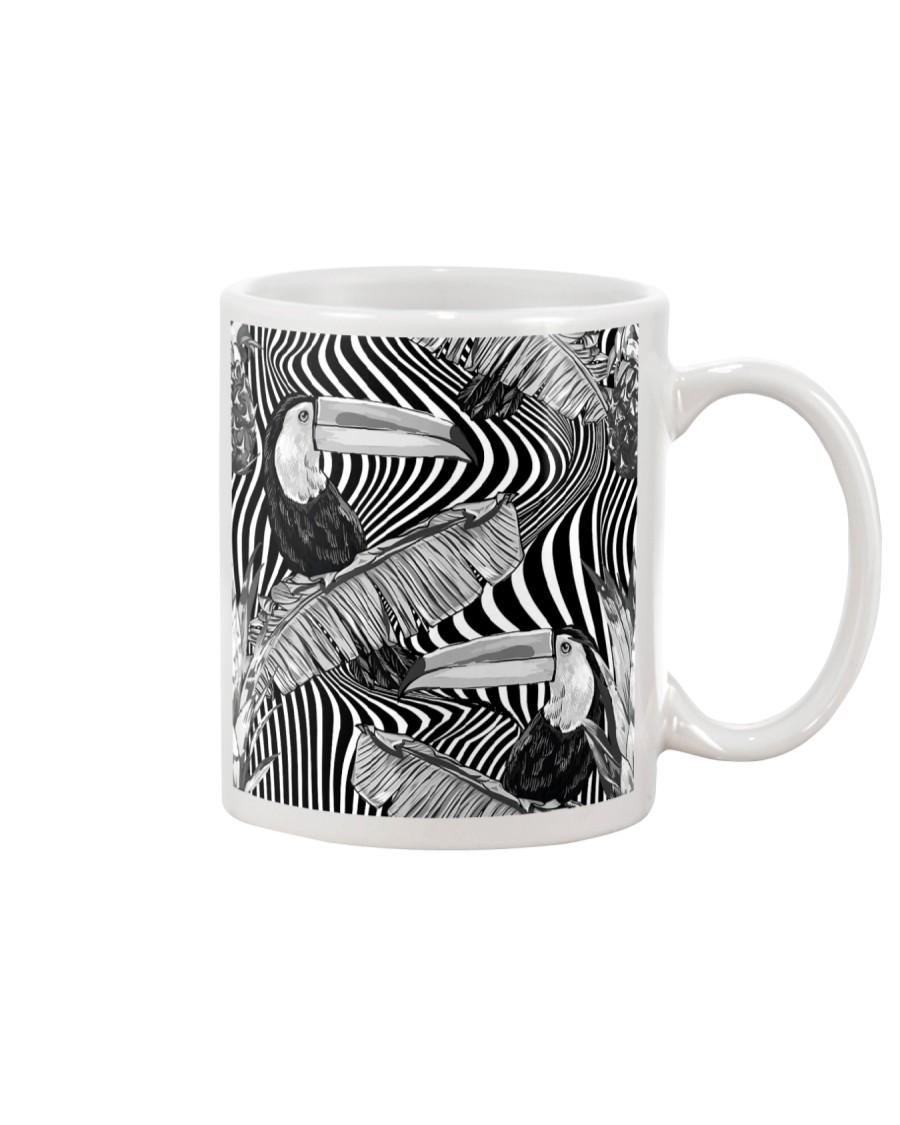 Black and White Toucans Mug