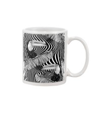 Black and White Toucans Mug front