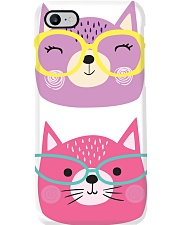 Cats with glasses Phone Case thumbnail