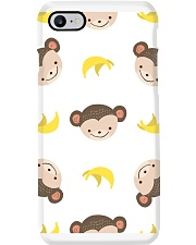 Cute Monkey Phone Case i-phone-7-case