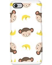 Cute Monkey Phone Case i-phone-8-case