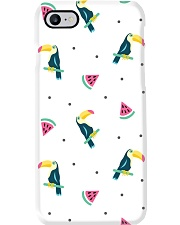 Toucans and Watermelon Phone Case thumbnail