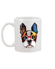 Modern Geometric Boston Mug back
