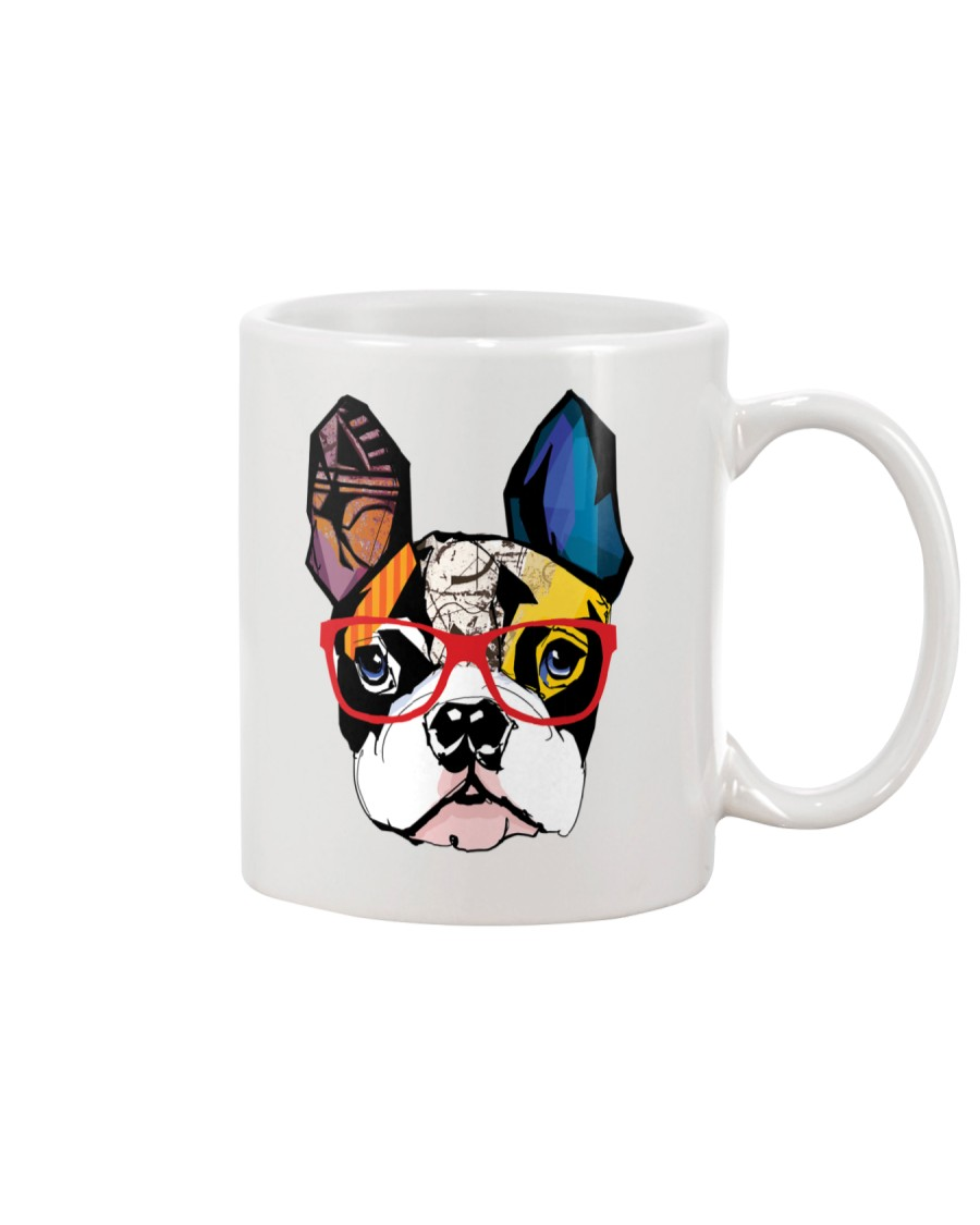 Modern Geometric Boston Mug