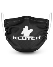 Official Klutch artist logo 2 Layer Face Mask - Single thumbnail