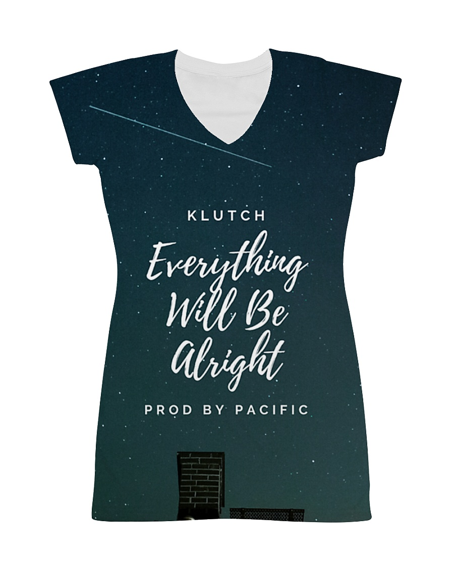 Klutch - Everything Will Be Alright All-over Dress