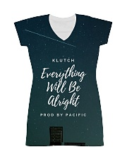 Klutch - Everything Will Be Alright All-over Dress front