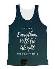 Klutch - Everything Will Be Alright All-over Unisex Tank front