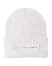 Only Jesus Saves  Knit Beanie thumbnail