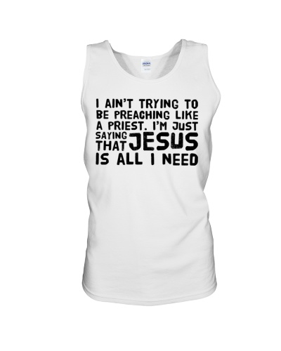 Jesus is all I need